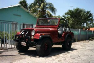 jeep huren curacao